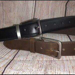 """Two new belts size 32"""" - brown and black"""